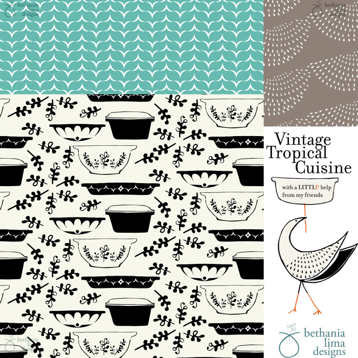 Patterns by Bethania Lima Designs.