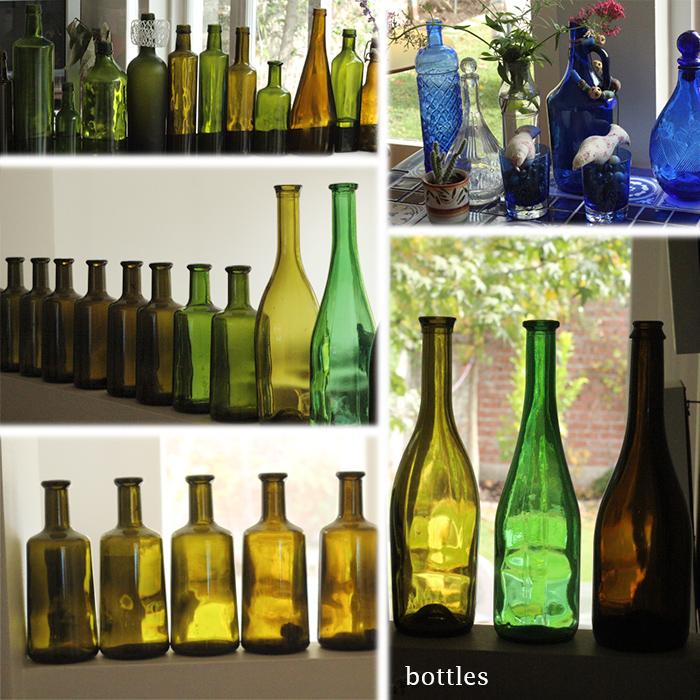 Bottle in the living room