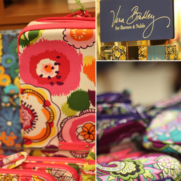 Vera Bradley line of products at Barnes and Noble. Photos by Bethania Lima Designs, 2014