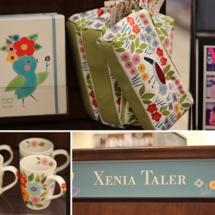 Xenia Taler range at Barnes and Noble. Photos by Bethania Lima Designs, 2014.