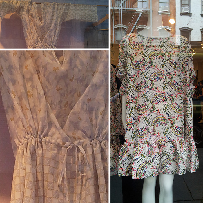 Window shopping: floral patterns